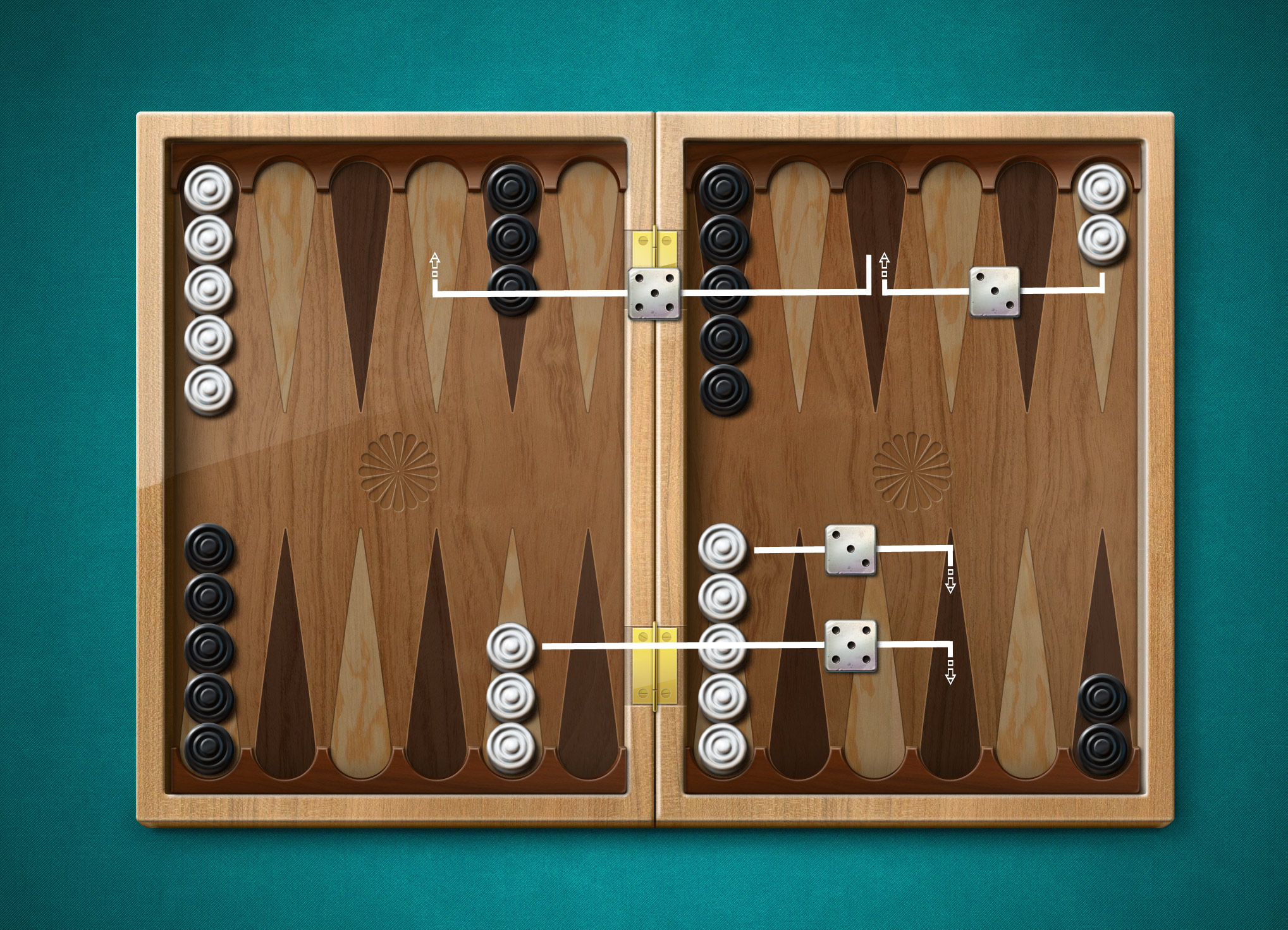 short backgammon